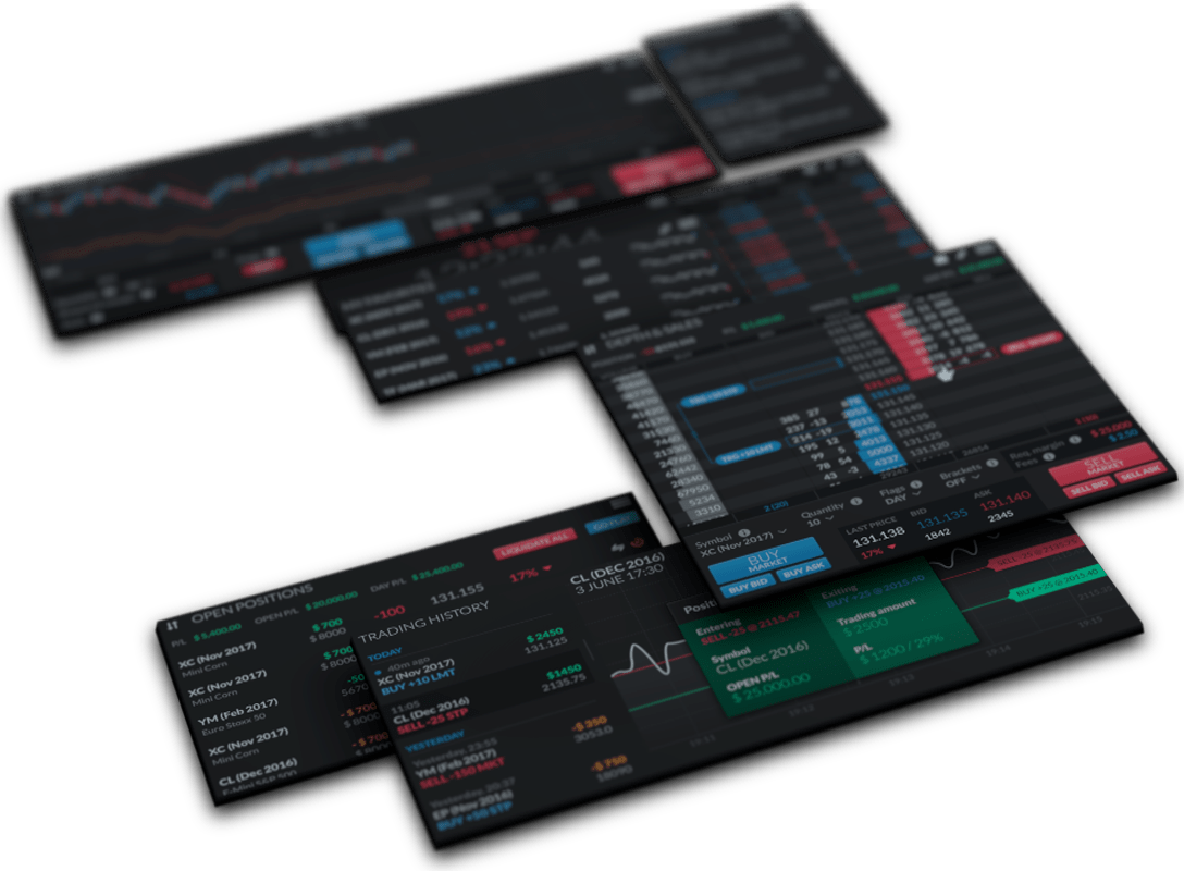 Uncluttered Trading Interface